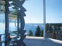 Fresnel invirtió la costa 2 Foto de archivo libre de regalías