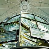 Fresnel lens Royalty Free Stock Image