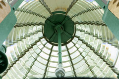 Fresnel Lens. The fresnel lens of the Absecon lighthouse Stock Photography