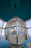 Fresnel lens close-up. Stock Photo