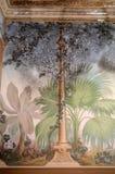 Fresque avec le moule Images stock