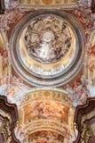 Fresque dans Stift Melk, Autriche Photos libres de droits