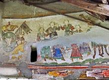 Fresque mural en Roumanie Photo libre de droits