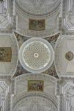 Fresque van Kathedraal van Solothurn zwitserland Stock Afbeeldingen