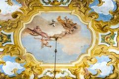 Fresques de Giovanni Battista Tiepolo Photos stock