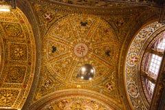 Fresques de mur et de plafond image stock