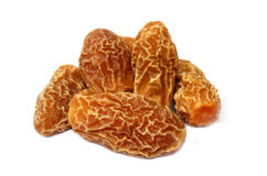 Fress Dates. Over white background Royalty Free Stock Photography
