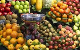 Frest Fruits At Market Stock Image