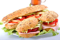 Frest sandwich - snack Royalty Free Stock Image