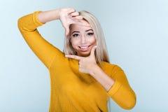 Frestale女孩 免版税库存图片