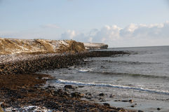 Freswick Bay looking north royalty free stock images