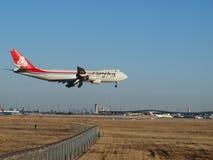 Fret aérien de Boeing 747-400 Images stock