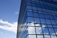 företags byggande Arkivfoto