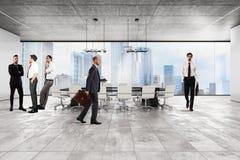 Företags utövande kontor Arkivbild