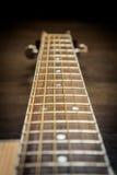 Fretboard de guitare acoustique Image libre de droits