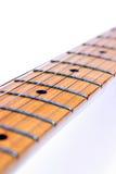 Fretboard de la guitarra Imágenes de archivo libres de regalías