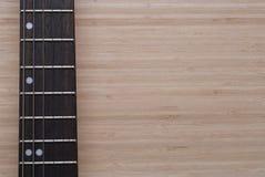 fretboard elektryczna gitara Fotografia Stock