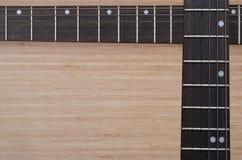 fretboard elektryczna gitara Zdjęcia Royalty Free