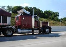 Frete de transporte por caminhão. Fotografia de Stock