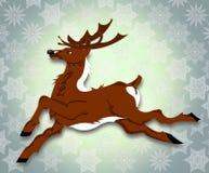 Fretta di Forest Deer per i regali Immagini Stock