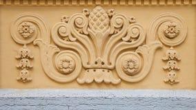 Fretwork на стене здания стоковое фото