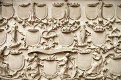 Fretwork element of historical monuments. Art fretwork element of historical monuments Royalty Free Stock Image