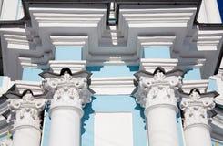 Column capitals Stock Images