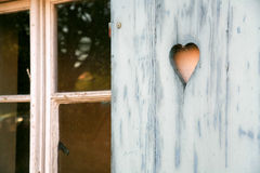 Fretwork heart Stock Photos