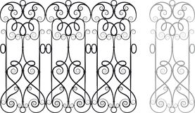 Fretwork Vector Royalty Free Stock Images