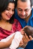 Freude an der Elternschaft Stockbild