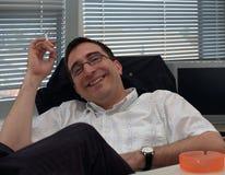 Freude am Erfolg Lizenzfreie Stockfotos