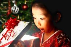 Freude am Weihnachten stockfotos