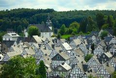 Freudenberg in Deutschland Lizenzfreies Stockfoto