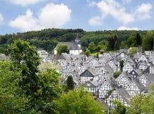 Freudenburg, Alemania fotos de archivo