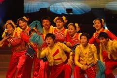Freuen Sie sich für die neue year-2007 Jiangxi Frühlingsfest-Gala Lizenzfreies Stockfoto