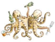 Freund-Kraken Lizenzfreies Stockfoto