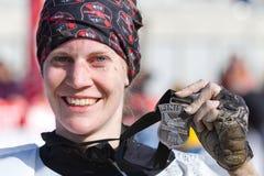 Freund-Mannlack-läufer 2012 des Fischers Lizenzfreie Stockbilder