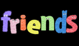 Freunde lizenzfreies stockbild