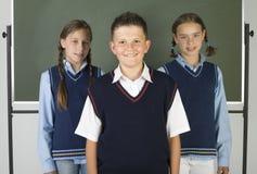 Freunde von der Schule Lizenzfreie Stockbilder