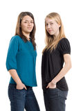 Freundinnen stockbilder