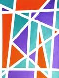 Freundliche abstrakte Hintergrund-Kunst Stockfotos