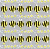 Freundliche Biene. Abbildung Stockfoto