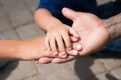 Freundliche Familie Lizenzfreies Stockfoto