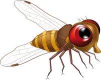 Freundliche Fliege von einem Karikaturfilm Stockfoto