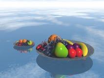 Freundliche Frucht, Mischfrüchte Stockfoto