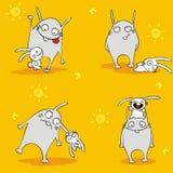 Freundliche Hasen Lizenzfreies Stockfoto