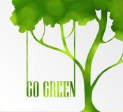 Freundliche Ikone der Ökologie Stockfotografie
