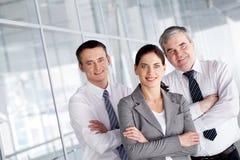 Freundliche Partner Lizenzfreies Stockfoto