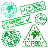 Freundliche Stempel Eco Lizenzfreie Stockfotos