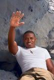 Freundlicher Afroamerikanerkerl   Stockbilder